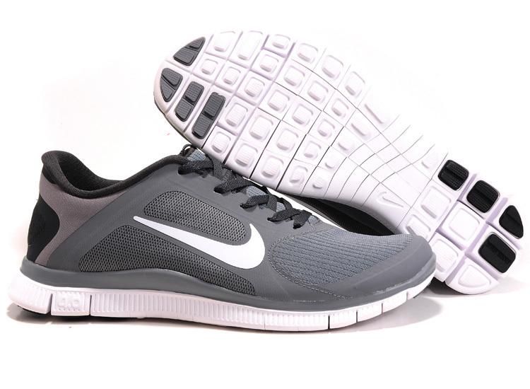 Menn Nike Free 4.0 V3 Løpesko Hvit Par HmUbg4H