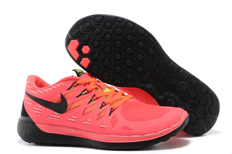 quality design 74685 fc339 World-Up Nike Free 5.0 Red Black Shoes