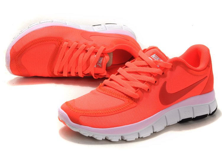 save off 71a36 71ba0 Women Nike Free 5.0 V4 Pink White Shoes