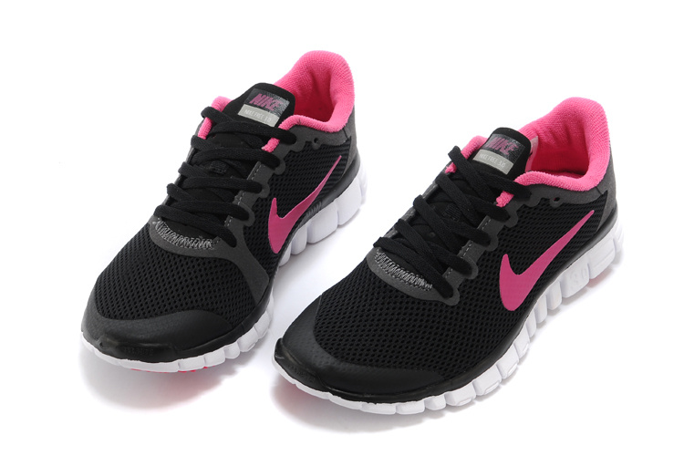 Scarpe da Boutique 0 da 3 Nike donna donna Black Free Run Pink pxp0qrvw