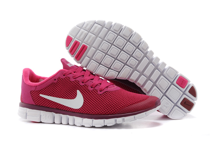 Nike Free Run30 Boutique Pink White Sport Footwear