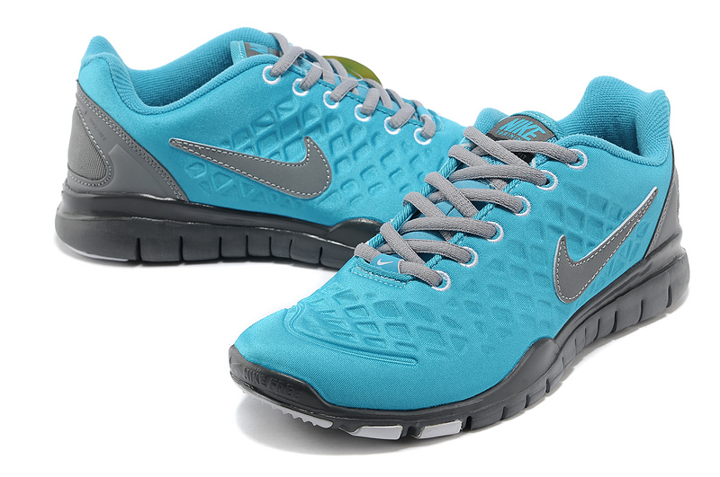 Nike Free TR Fit 2 Shield Blue Grey Shoes