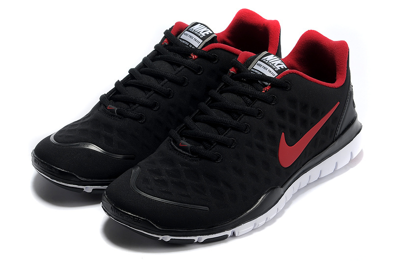 Nike Free TR Fit Black Red Running Shoes