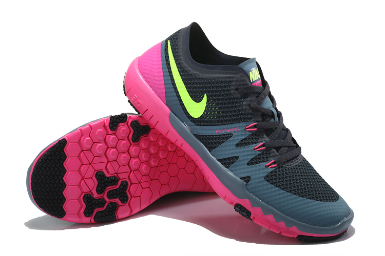 Nike Free 3.0 V3 Trainer Black Red Green Shoes For Women