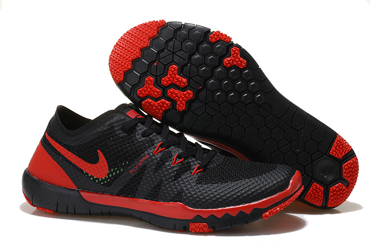 Nike Free 3.0 V3 Trainer Black Red Shoes