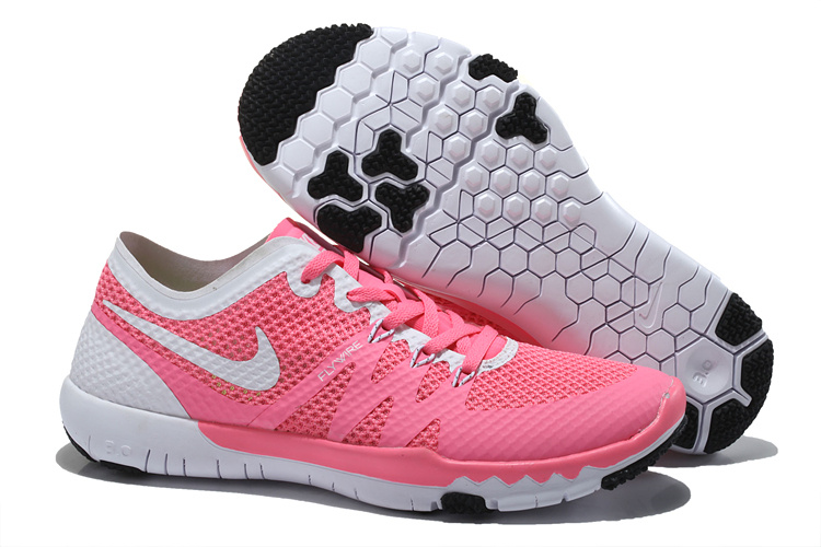 Nike Free 3.0 V3 Trainer Pink White Shoes For Women