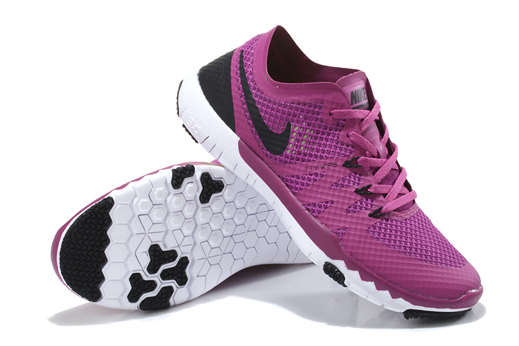 Nike Free 3.0 V3 Trainer Purple Black Shoes For Women