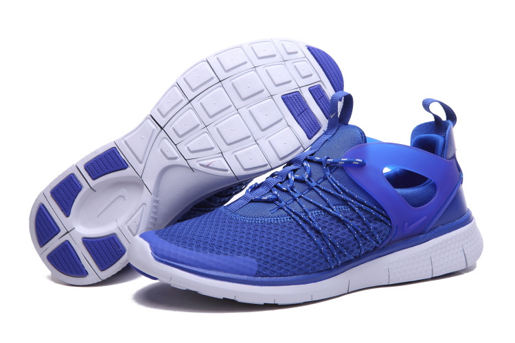 Nike Free Viritous Blue White Running Shoes For Lover