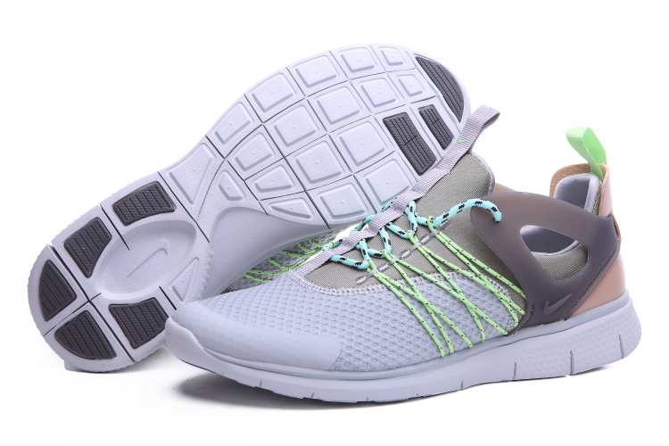 Nike Free Viritous Grey Green Running Shoes