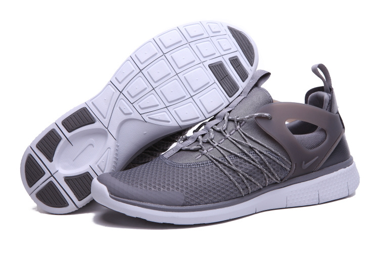 Nike Free Viritous Grey White Running Shoes