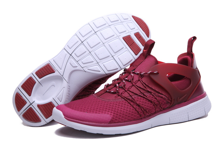 Nike Free Viritous Red White Running Shoes