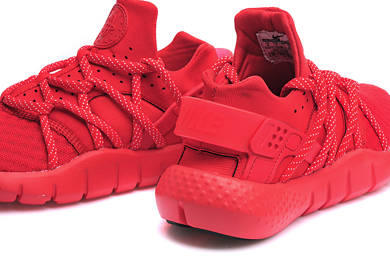 Nike Huarache NM All Red Lover Shoes