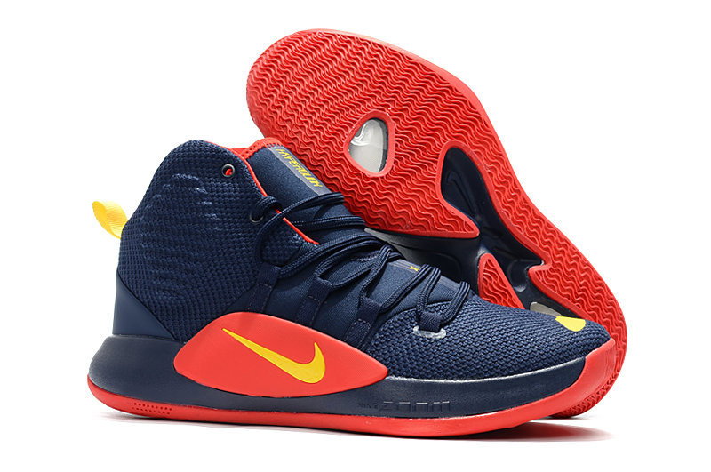 Nike Hyperdunk 2018 Dark Blue Red Shoes