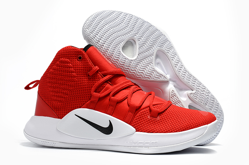 Nike Hyperdunk 2018 Red Black White Shoes
