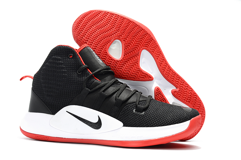 Nike Hyperdunk X 2018 Black White Red Baskebtall Shoes