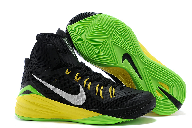 Nike Hyperdunk XDR 2014 Black Gras Green Shoes