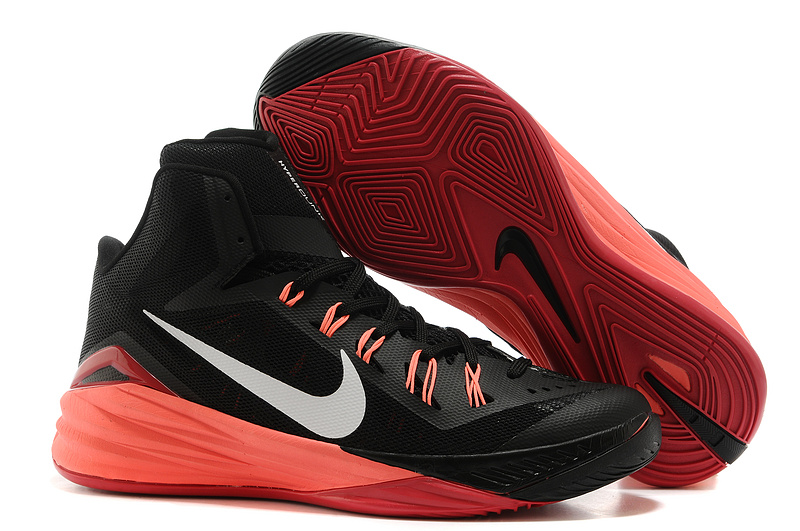 Nike Hyperdunk XDR 2014 Black Wine Red Shoes