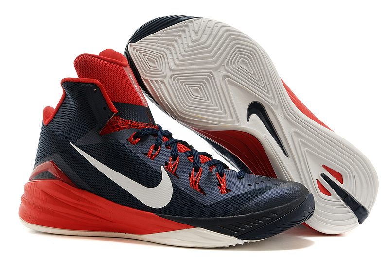 Nike Hyperdunk XDR 2014 Dark Blue Red Black Shoes