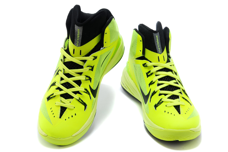Nike Hyperdunk XDR 2014 Flourscent Green Shoes