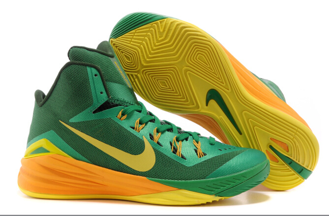 Nike Hyperdunk XDR 2014 Green Yellow Shoes