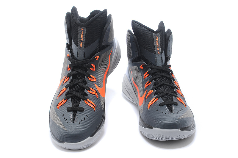 Nike Hyperdunk XDR 2014 Grey Orange Shoes