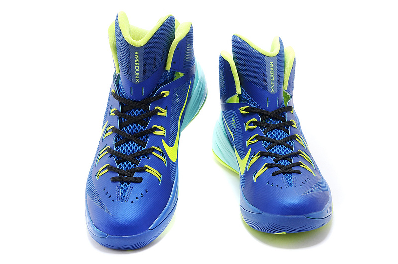Nike Hyperdunk XDR 2014 Jade Blue Green Shoes
