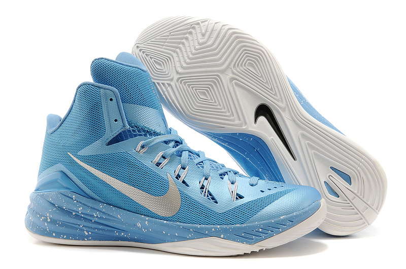 Nike Hyperdunk XDR 2014 Light Blue Shoes