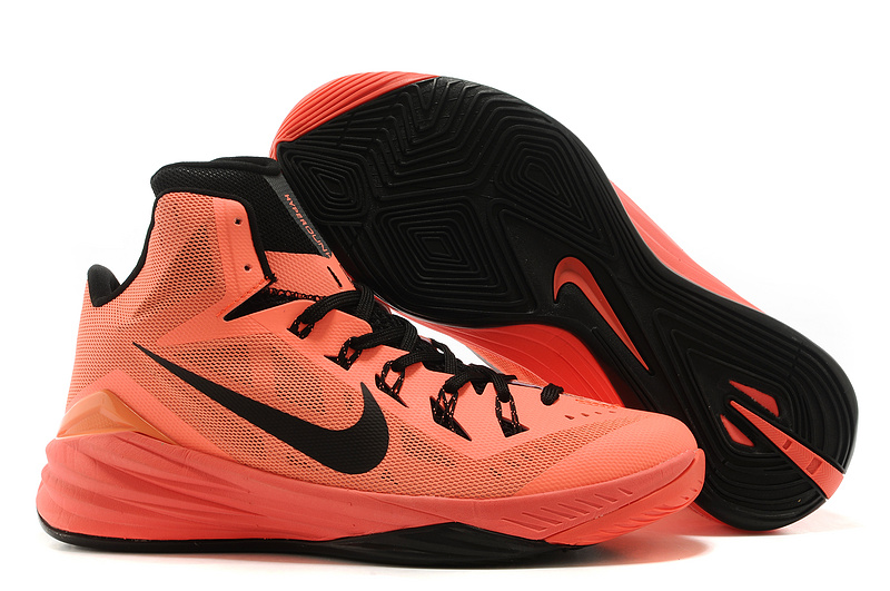 Nike Hyperdunk XDR 2014 Light Orange Black Shoes