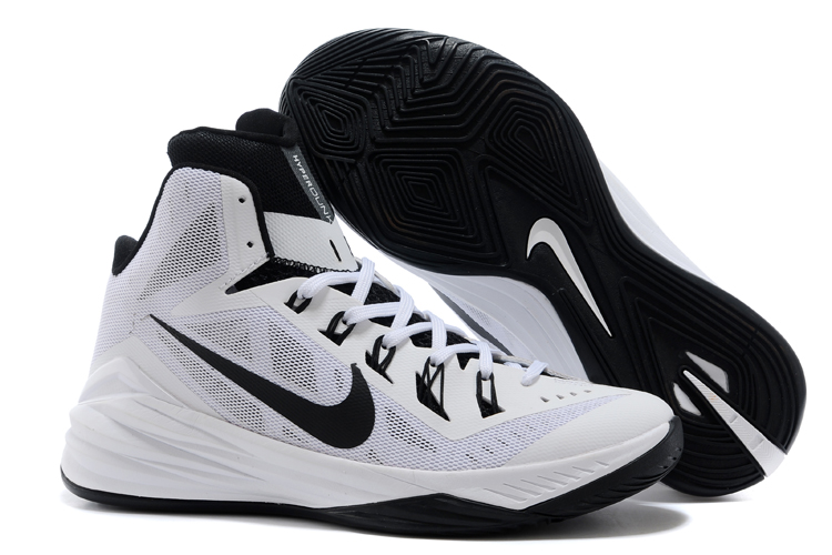 Nike Hyperdunk XDR 2014 White Black Shoes