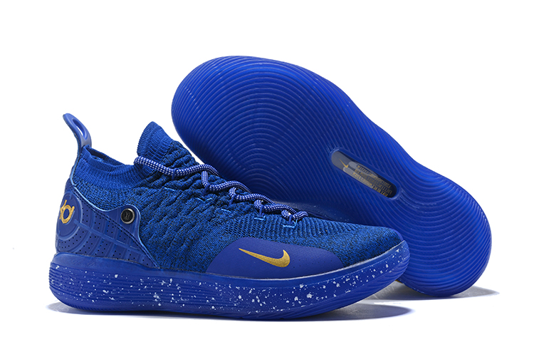 Nike KD 11 EP Blue Gloden Storm Shoes
