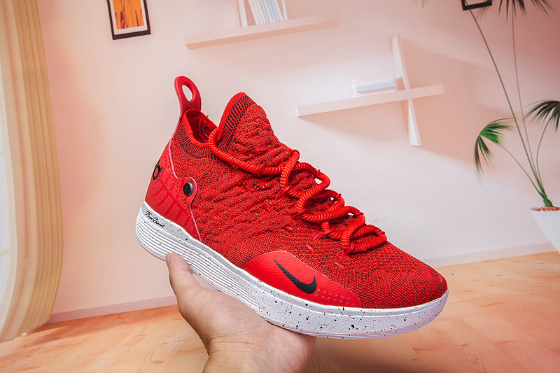 Nike KD 11 Red Black Basketball Shoes