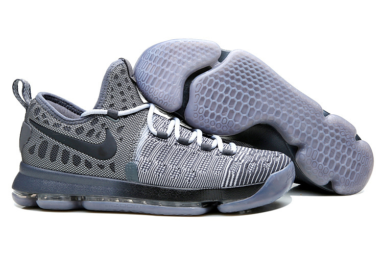 Nike KD 9 Battle Grey Wolf Grey Dark Grey