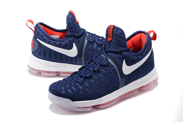 Nike KD 9 Dream Team Blue Red White Basketball Shoes