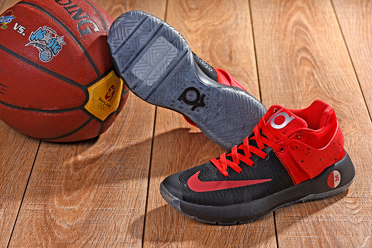 Nike KD Trey 5 Black Red Shoes
