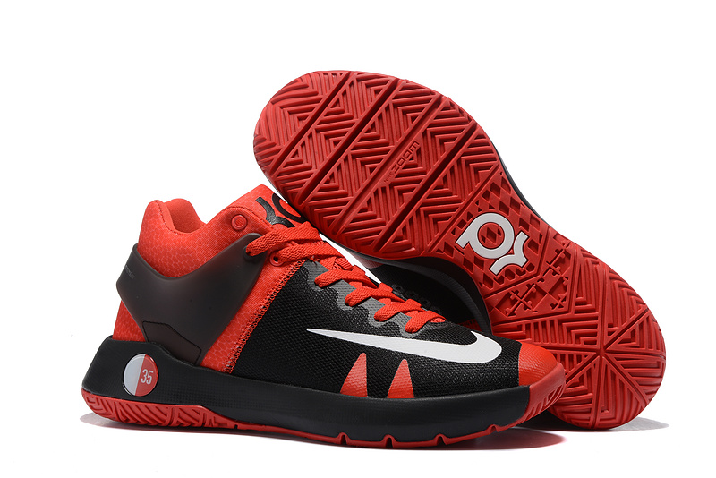 Nike KD Trey 5 IV Black Red White Basketball Shoes