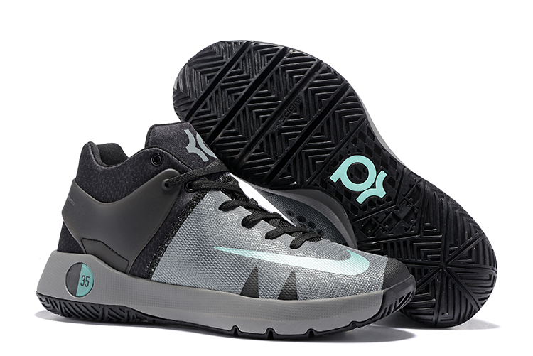 Nike KD Trey 5 IV Grey Black Jade Basketball Shoes