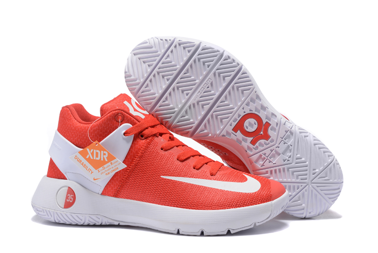 Nike KD Trey 5 IV Red White Basketball Shoes