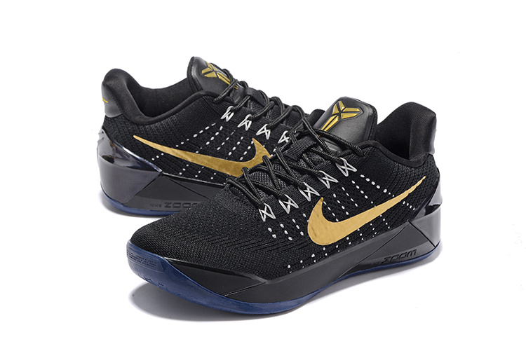 Nike Kobe A.D Black Gold Basketball Shoes For Women