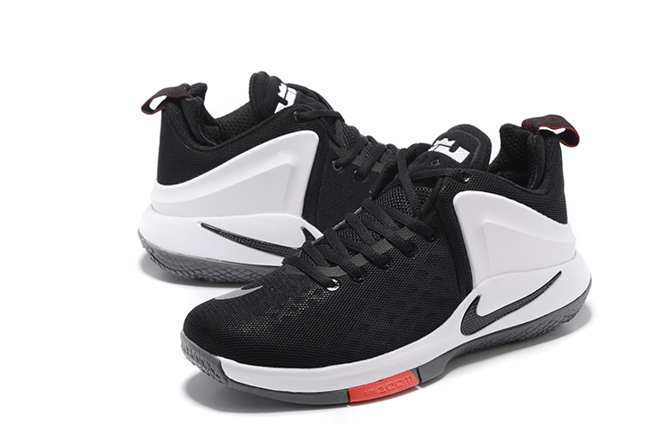 Nike Lebrom Zoom Wintness EP Black Red White Shoes