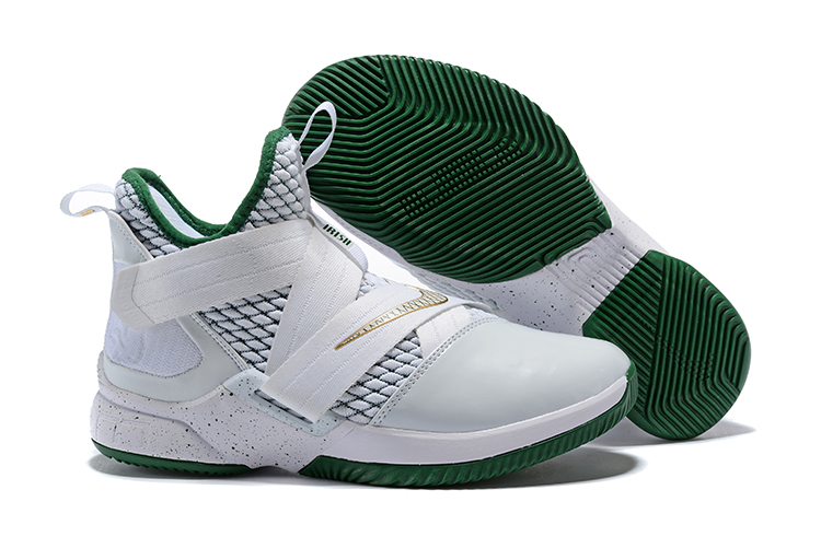 Nike Lebron 12 SVSM White Green Shoes