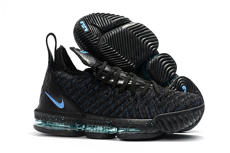 Nike Lebron 16 Full Palm Air Cushion Black Moon Shoes