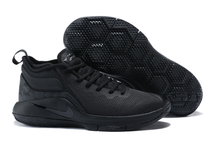 Nike Lebron Wintnes 2 All Black Shoes