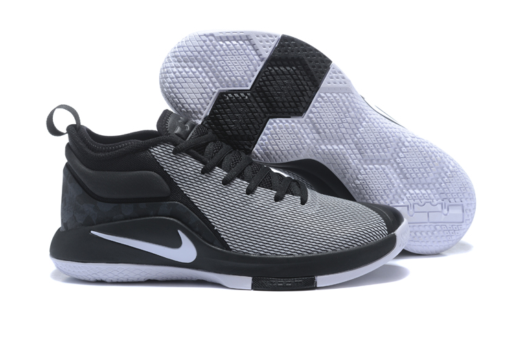 Nike Lebron Wintnes 2 Black Grey White Shoes