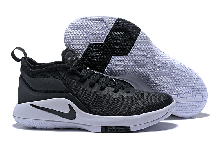 Nike Lebron Wintnes 2 Black White Shoes