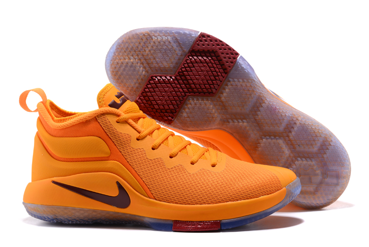 Nike Lebron Wintnes 2 Yellow CAVS Shoes