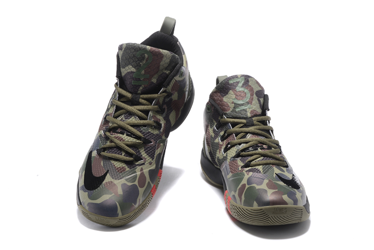 Nike Lebron Wintness 9 Camo Basketball Shoes