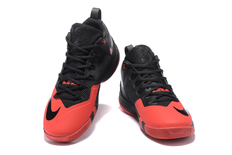 Nike Lebron Wintness 9 Red Black Basketball Shoes