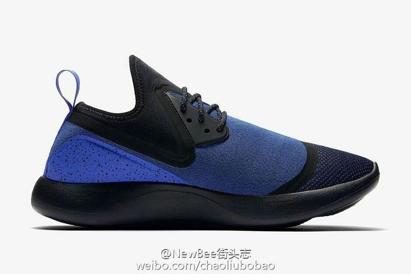 2017 Nike Lunarcharge Premium LE Black Blue Shoes