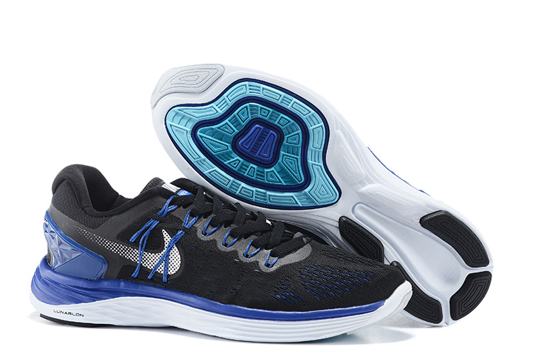 Nike Lunareclipes Green Black Blue White Running Shoes