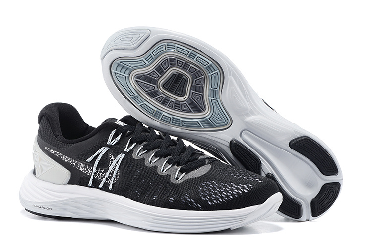 Nike Lunareclipse Black White Running Shoes